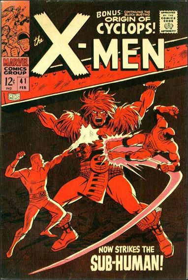 X-Men (1963) 41-A by Marvel