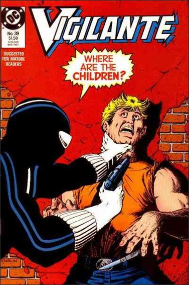 Vigilante (1983) 39-A by DC