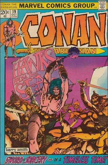 Conan the Barbarian (1970) 19-A by Marvel