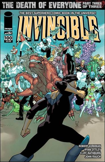 Invincible 100-B by Skybound Entertainment