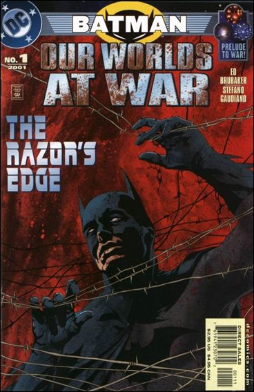 Batman: Our Worlds at War 1-A by DC