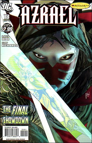 Azrael (2009) 18-A by DC