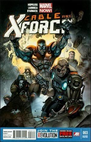 Cable and X-Force 3-C by Marvel