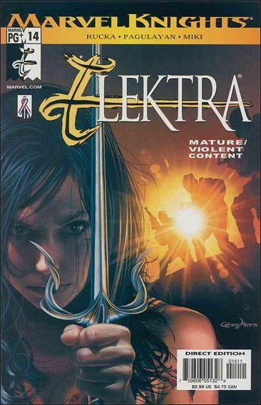 Elektra (2001) 14-A by Marvel