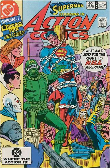 Action Comics (1938) 536-A by DC