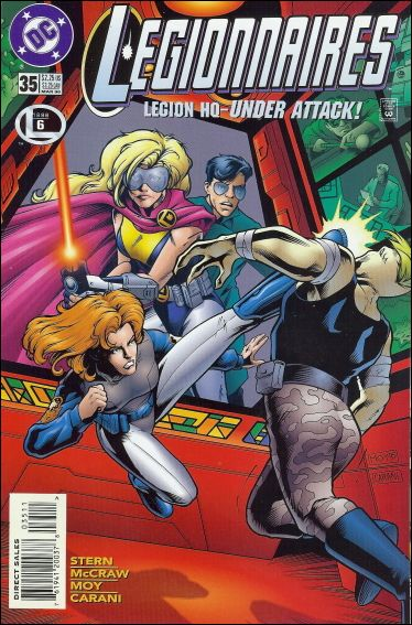 Legionnaires 35-A by DC