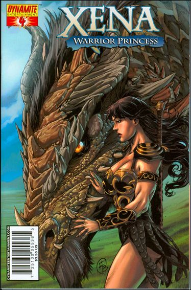 Xena (2006) 4-A by Dynamite Entertainment