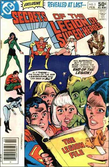 Secrets of the Legion of Super-Heroes 2-A by DC
