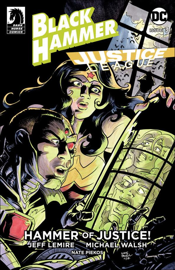 Black Hammer/Justice League: Hammer of Justice! 3-B by Dark Horse