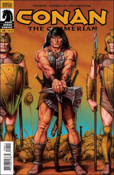 Conan the Cimmerian 8-A by Dark Horse