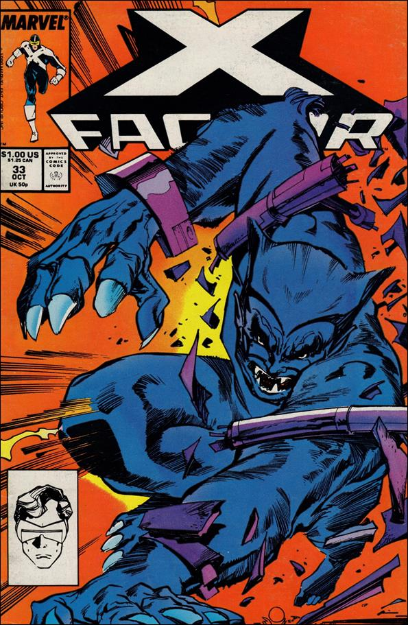 X-Factor (1986) 33-A by Marvel