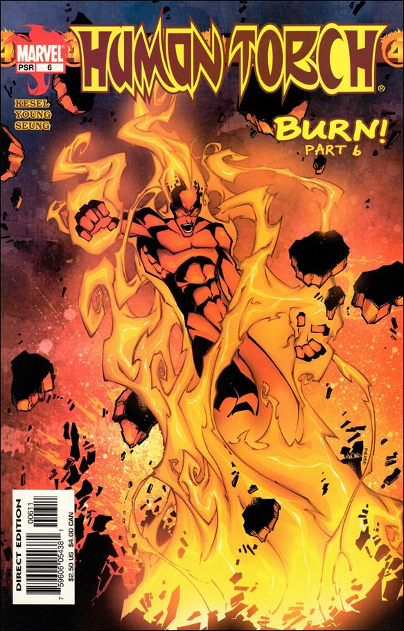 Human Torch (2003) 6-A by Marvel