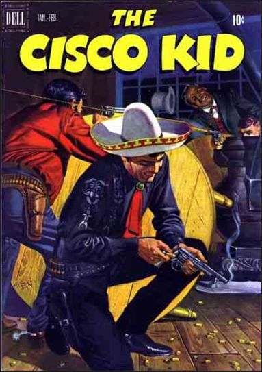 Cisco Kid (1951) 7-A by Dell