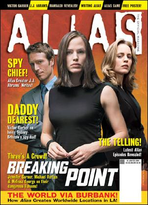 Alias: The Official Magazine 2-A by Titan