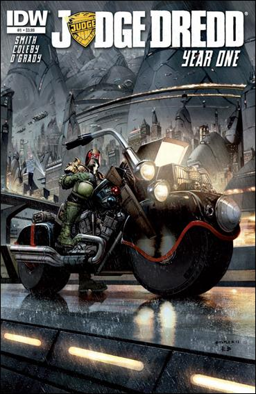 Judge Dredd: Year One 1-A by IDW