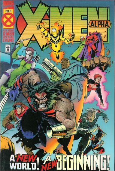 X-Men Alpha 1-C by Marvel
