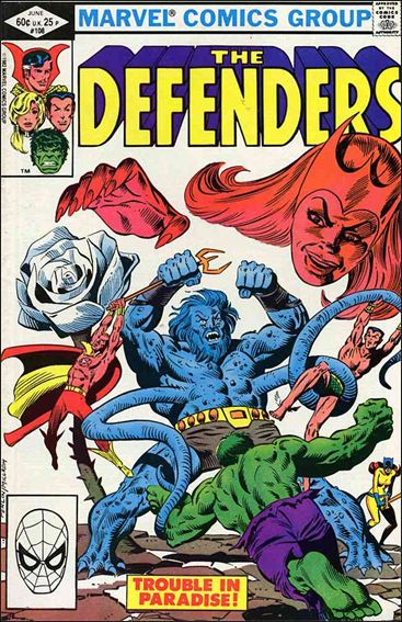 Defenders (1972) 108-A by Marvel