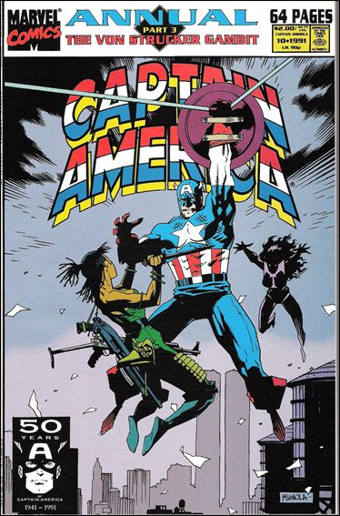 Captain America Annual (1971) 10-A by Marvel