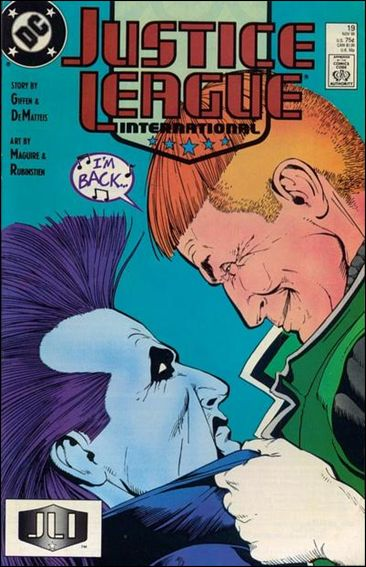 Justice League International (1987) 19-A by DC