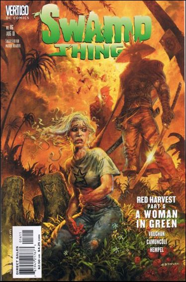 Swamp Thing (2000) 16-A by Vertigo