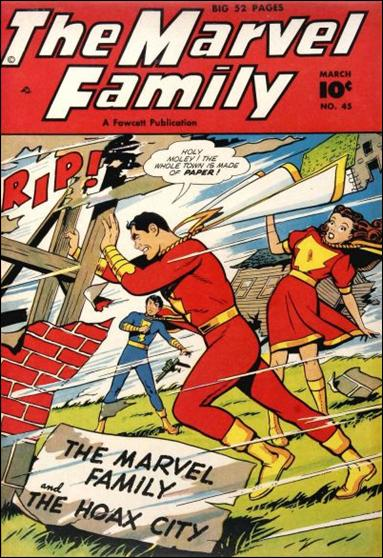 Marvel Family 45-A by Fawcett