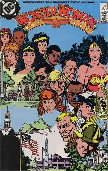 Wonder Woman (1987) 32-A by DC