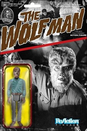 ReAction: Universal Monsters The Wolfman