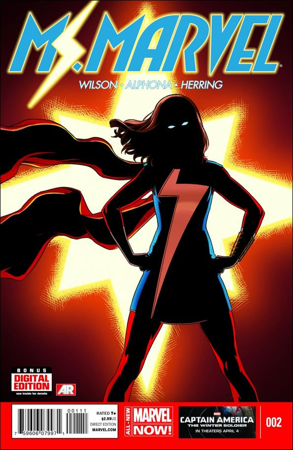 Ms. Marvel (2014)  2-A by Marvel