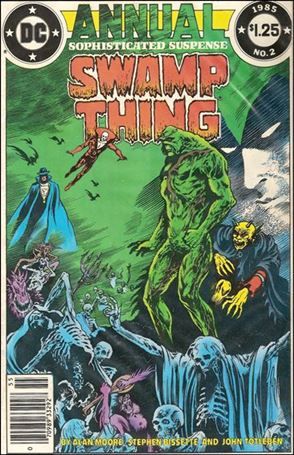 Swamp Thing Annual (1982) 2-A