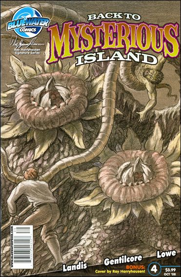 Back to Mysterious Island 4-A by Bluewater Comics