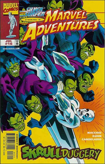 Marvel Adventures 16-A by Marvel