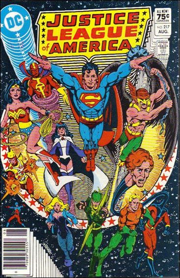Justice League of America (1960) 217-B by DC