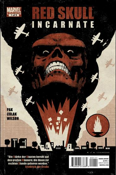Red Skull (2011) 1-A by Marvel