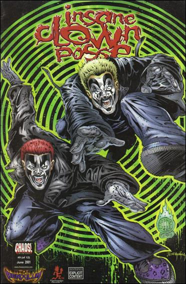 Insane Clown Posse: The Pendulum 9-A by Chaos! Comics