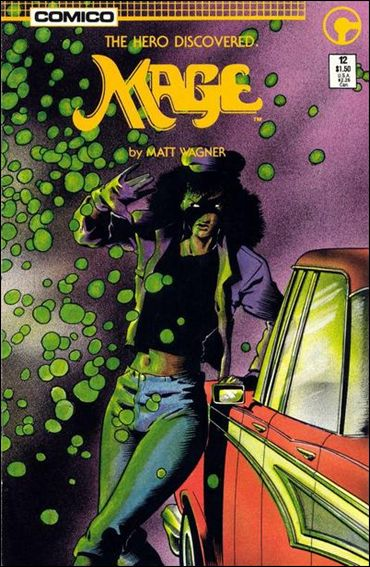Mage: The Hero Discovered 12-A by Comico