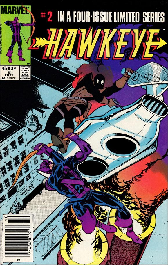 Hawkeye (1983) 2-A by Marvel