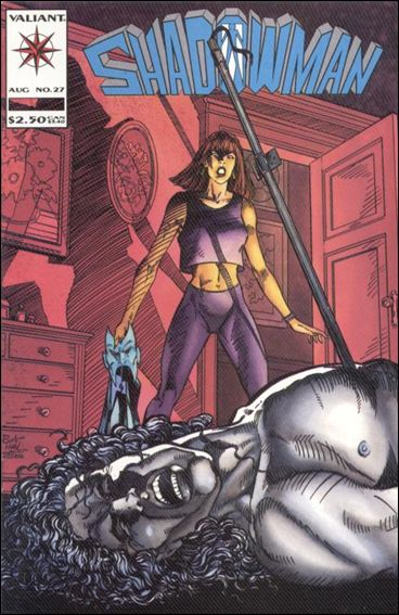 Shadowman (1992) 27-A by Valiant
