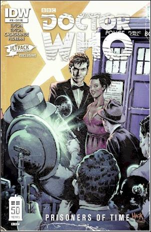 Doctor Who: Prisoners Of Time  10-D by IDW