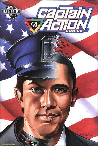 Captain Action Comics 5-A by Moonstone