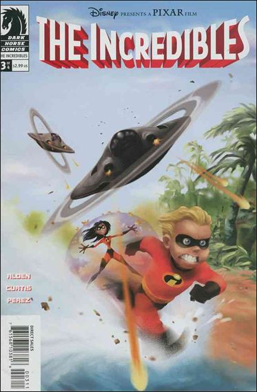 Incredibles (2004) 3-A by Dark Horse