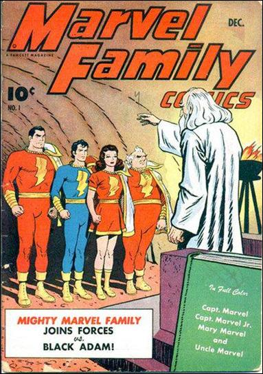 Marvel Family 1-A by Fawcett