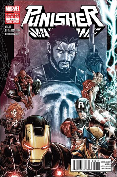 Punisher: War Zone (2012) 2-A by Marvel