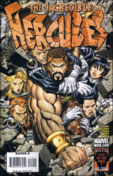 Incredible Hercules 114-A by Marvel