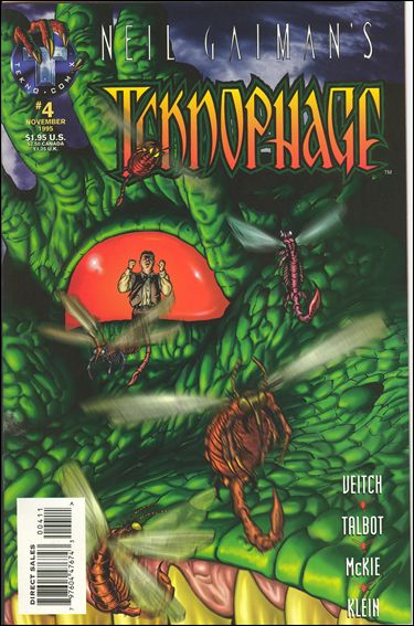 Neil Gaiman's Teknophage 4-A by TeknoComix