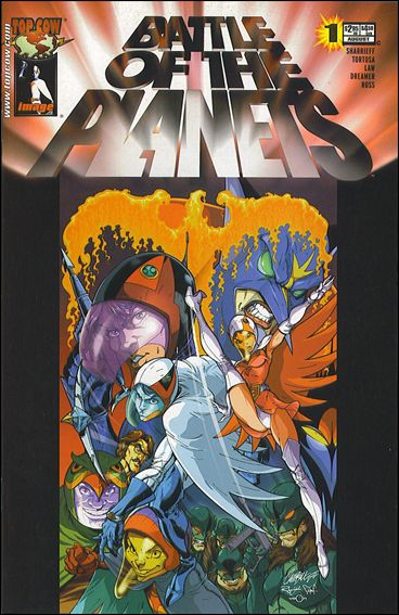 Battle of the Planets (2002) 1-C by Top Cow