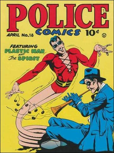 Police Comics 18-A by Comic Magazines