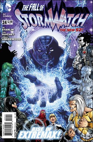 StormWatch (2011) 24-A by DC