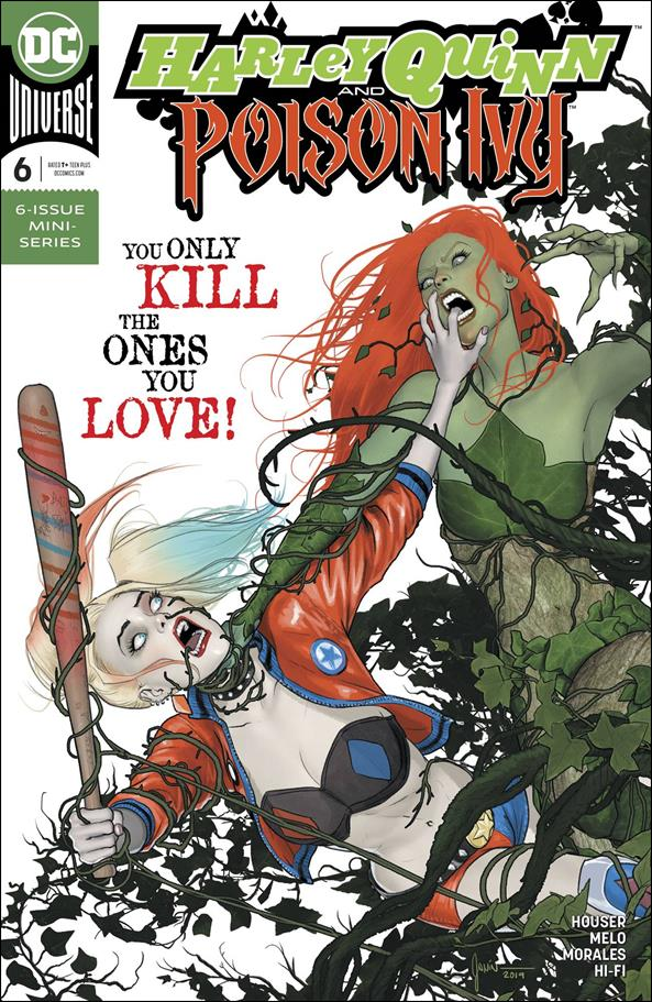 Harley Quinn and Poison Ivy 6-A by DC