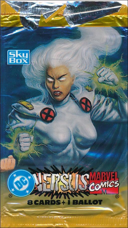 DC Versus Marvel / Marvel Versus DC 2-B by SkyBox