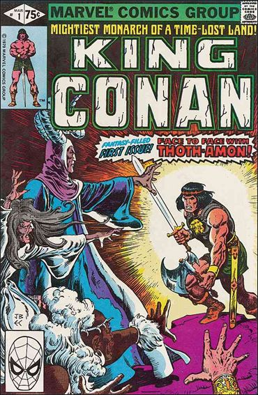 King Conan 1-A by Marvel